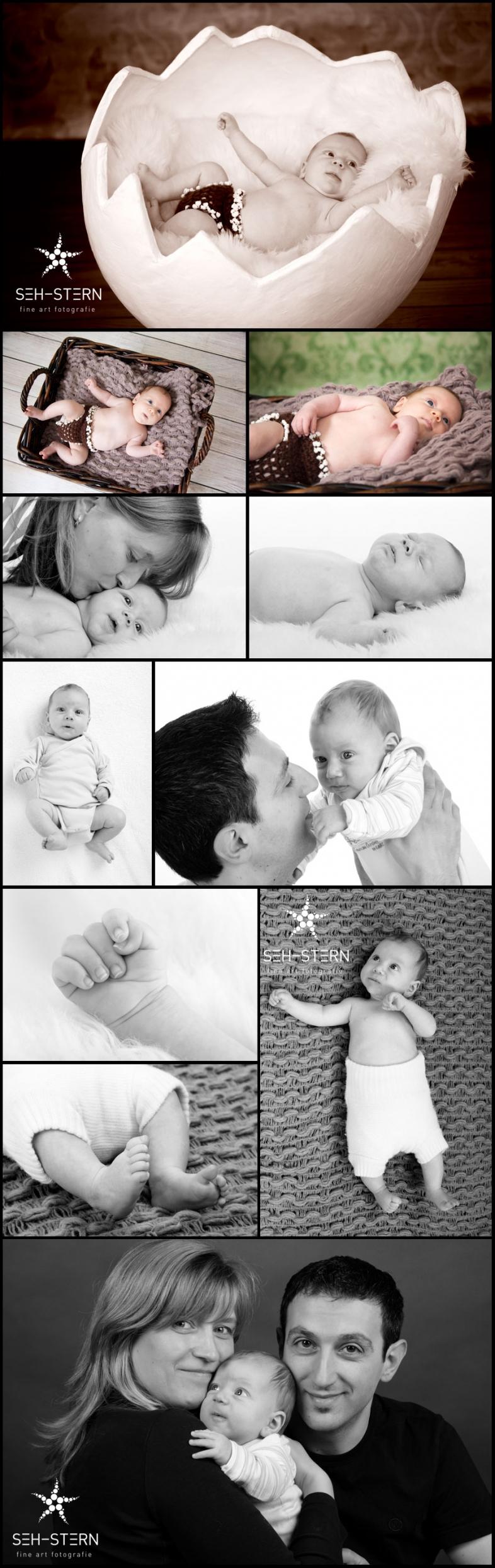 Kinderfotos, Babyfotos und Neugeborenenfotos in München von Familienfotografin Marion Hogl