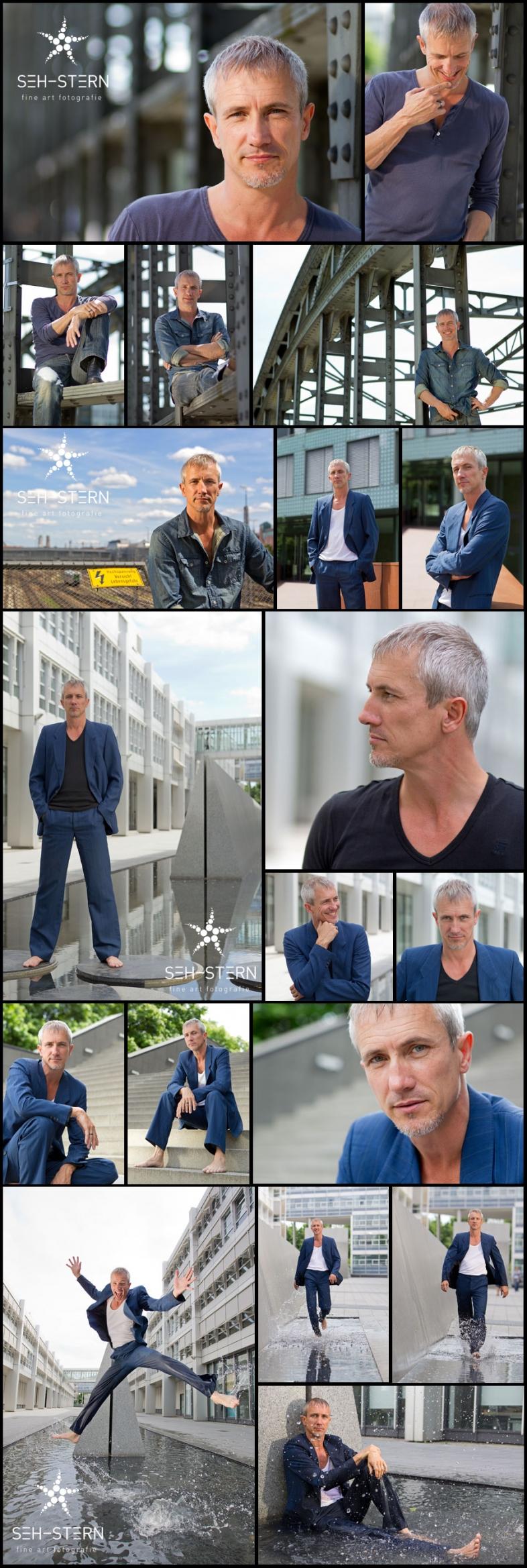 Portraits von Schauspieler Markus Böker in München