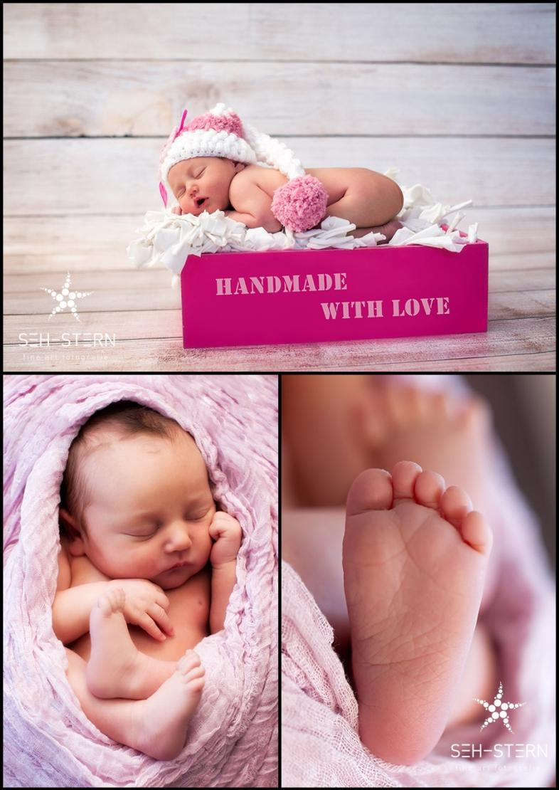Neugeborenenfotos und Babyfotos in München