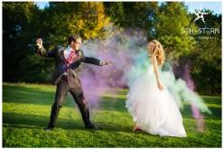 Holi Pulver Hochzeit