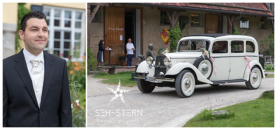 Oldtimer Hochzeit München