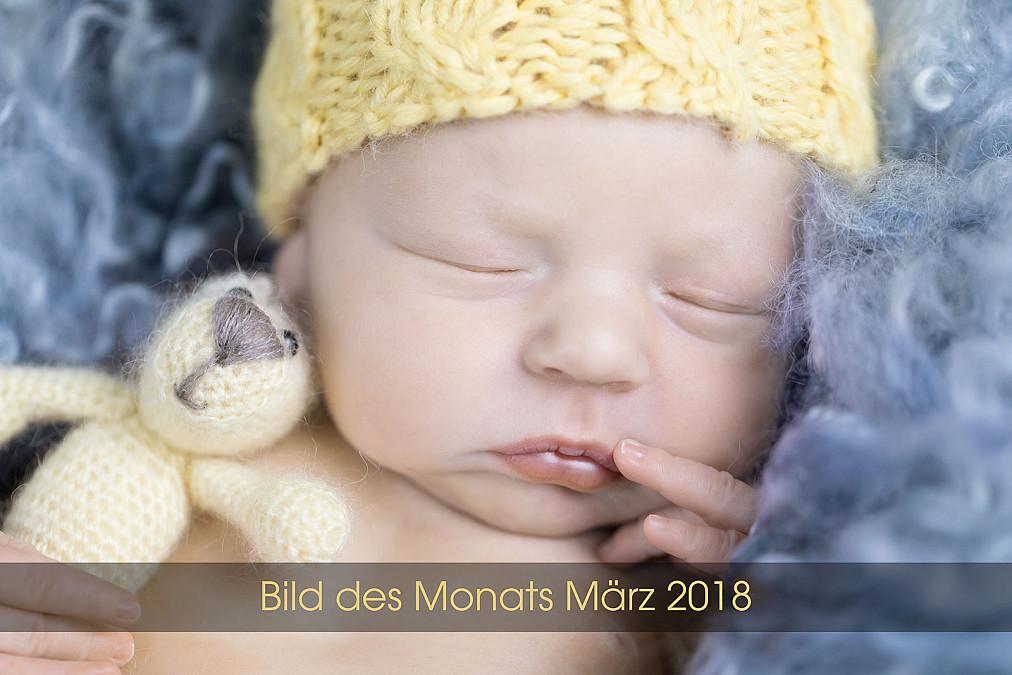 Zauberhafte Babyfotos im Tageslichtstudio