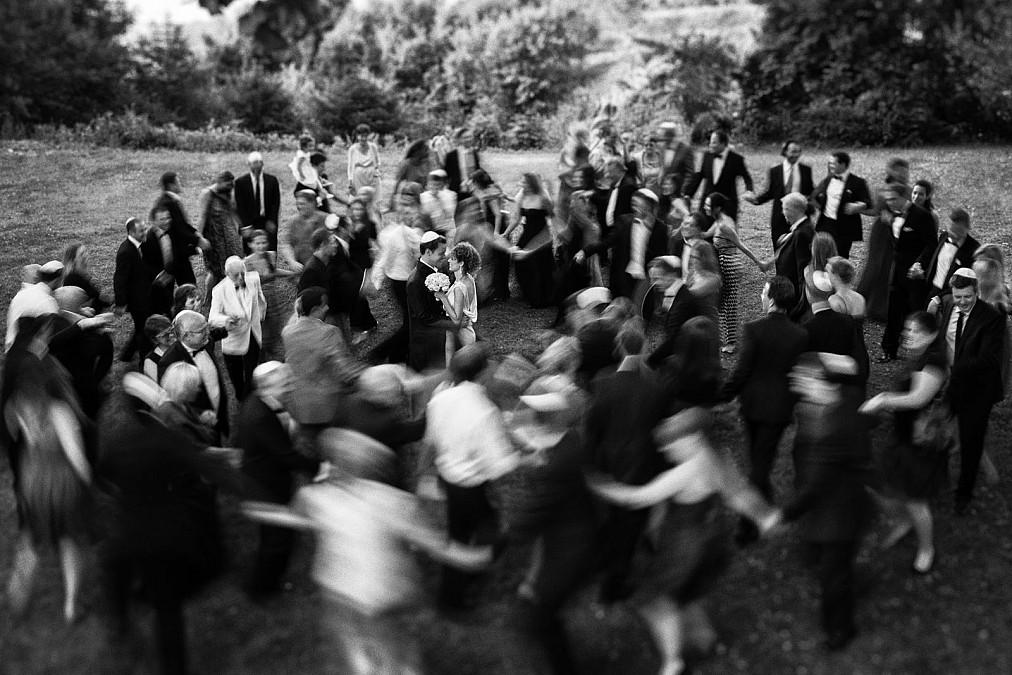 Jüdische Hochzeit Gruppenbild