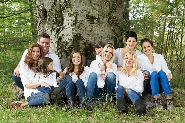 Natürliche Familienfotos in München und ganz Bayern