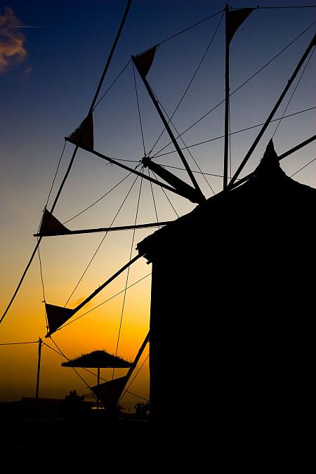 Windmühle Oia
