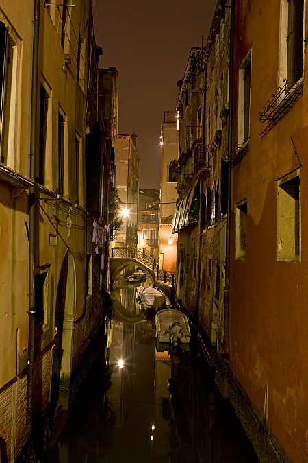 Nachtaufnahme Venedig