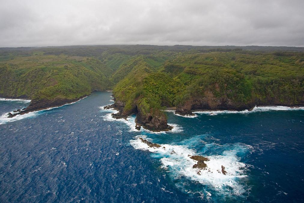 Maui Luftaufnahme