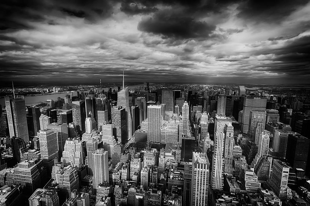 Aussicht Empire State Building