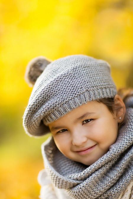 Mädchenportrait Herbst