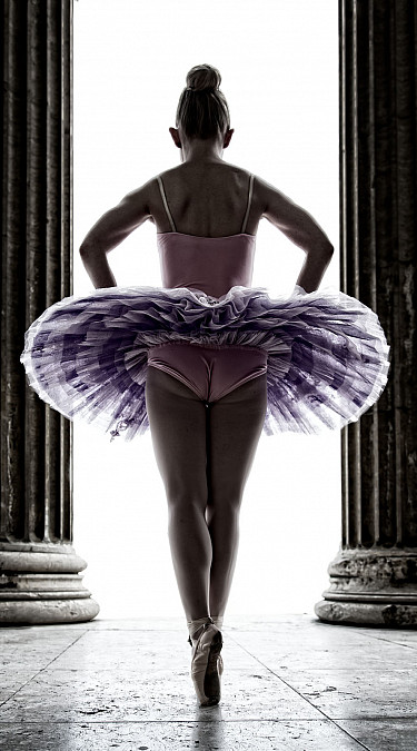 Portrait einer Tänzerin